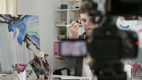 Thumbnail for Teenage Beauty Guru Filming Tutorial