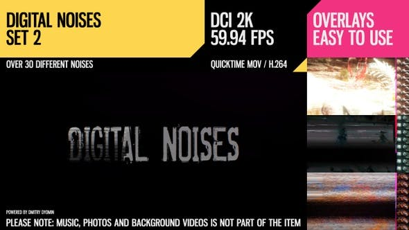 Thumbnail for Digital Noises (HD Set 2)