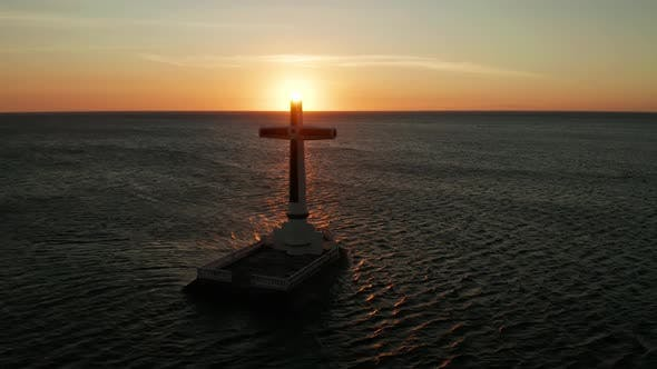 Thumbnail for Sunken Cemetery Cross in Camiguin Island, Philippines