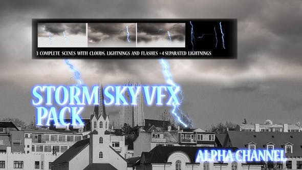 Thumbnail for Storm Sky Vfx Pack