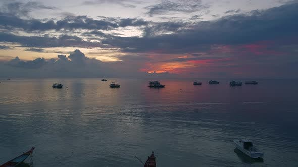 Thumbnail for Sunset Over Sea part