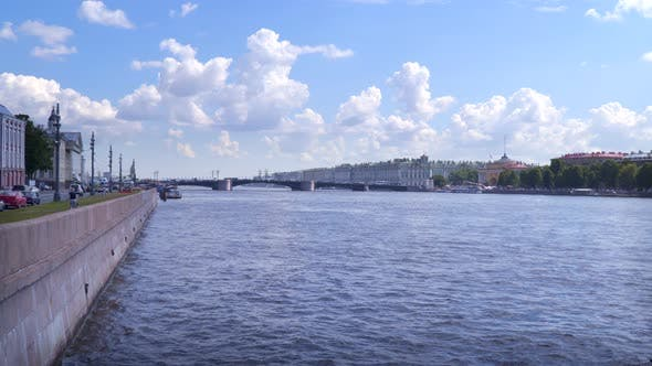Thumbnail for View of the Neva River