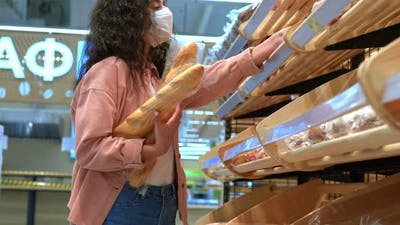 Buying Bread in the Bakery