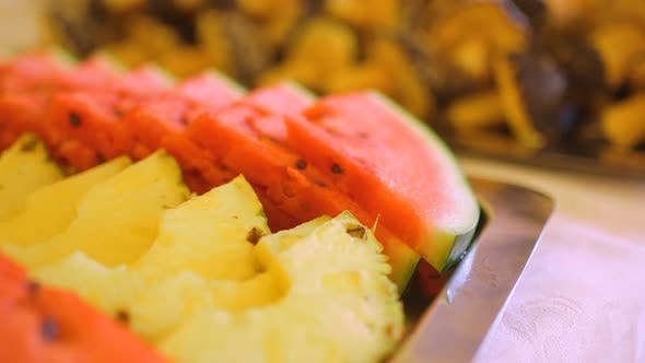 Thumbnail for Various Fruits on Plate Wedding Reception