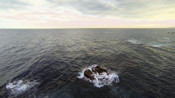 Mediterranean Beach Aerial View 01