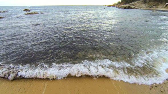 Thumbnail for Mediterranean Beach Aerial View 02