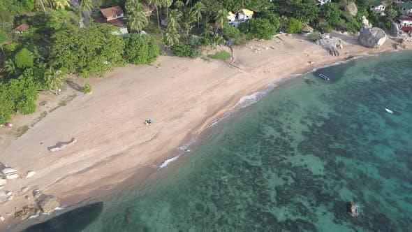 Beach on height