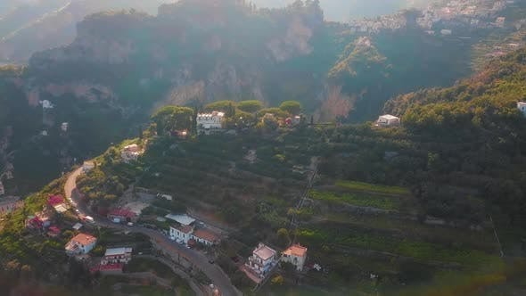 Thumbnail for Ravello and Atrani Aerial, Amalfi Coast