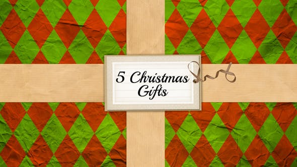 Cover Image for 5 Christmas Gifts