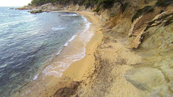 Thumbnail for Mediterranean Beach Aerial View 03