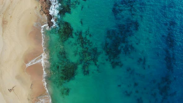 Thumbnail for Aerial View of Beautiful Papagayo Beach in Canary Islands