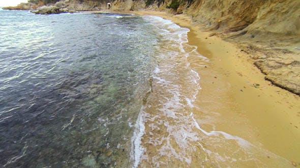 Thumbnail for Mediterranean Beach Aerial View 06