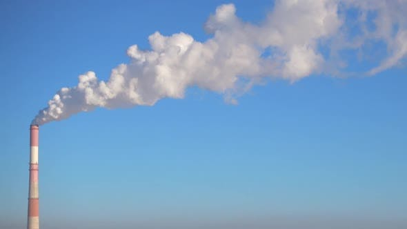 Thumbnail for Chimney of Factory and Clear Sky Environmental Pollution