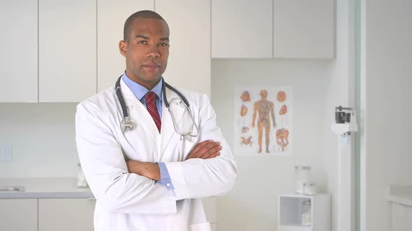 Thumbnail for Portrait of young male  doctor