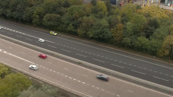 Thumbnail for Police Arriving at the Scene of a Motorway Accident