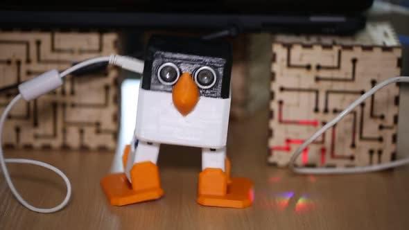The Robot Dances