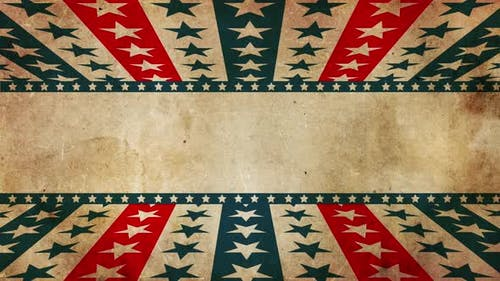 Grunge Patriotic Stars And Stripes 4k