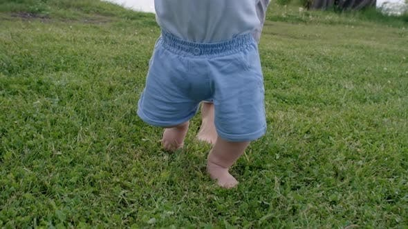 Thumbnail for Cute Toddler Learning to Walk