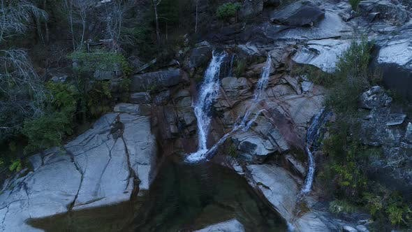 Thumbnail for Beauty Waterfall in the Mountains