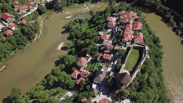 Thumbnail for Vranduk Castle a small medieval castle of Bosnian kings V17