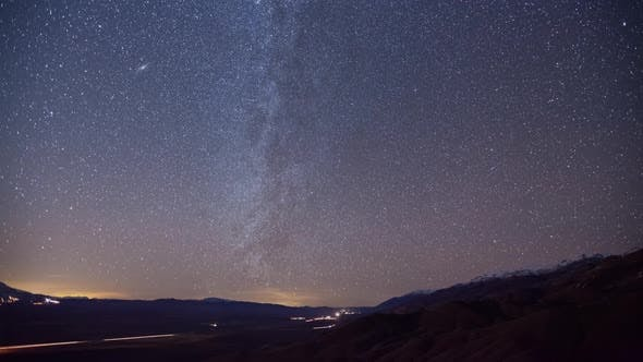 Stars and Milky Way Time Lapse