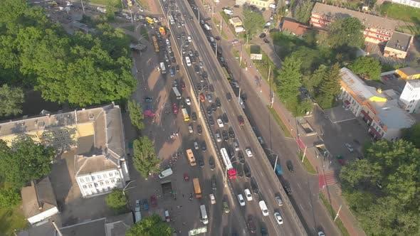 Aerial Traffic Jams