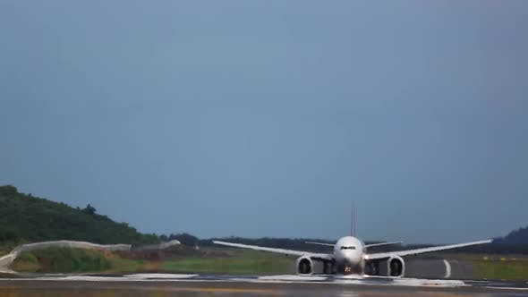 Cover Image for Wide Body Airplane Departure