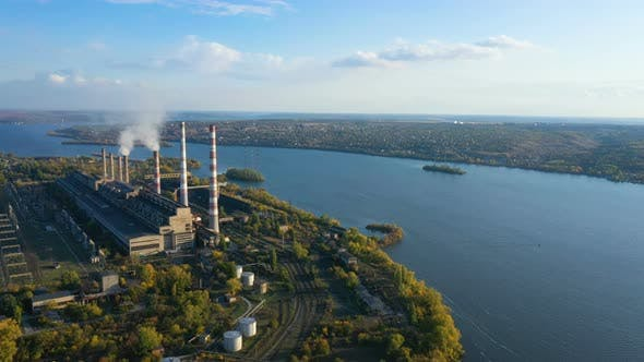 Thumbnail for Power Plant Aerial View