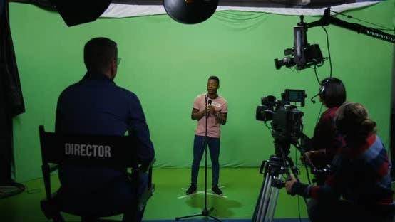 Thumbnail for Man Singing at an Audition