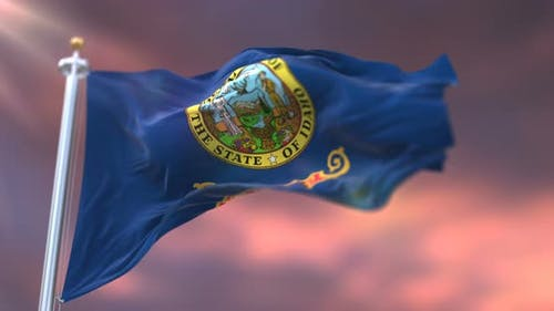 Flag of Idaho State