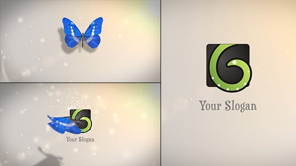 Thumbnail for Butterfly Logo Reveal