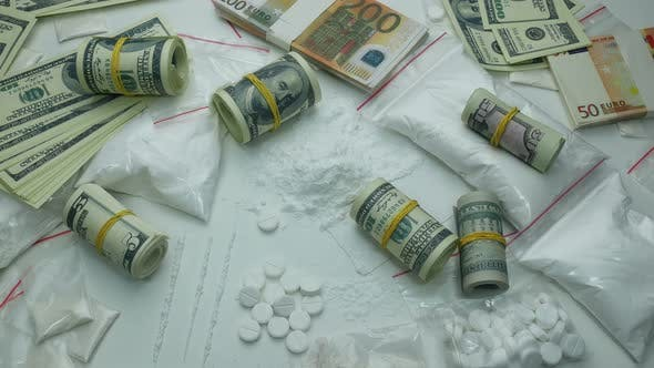 Thumbnail for Illegal Financial Profit Of The Drug Cartel From The Sale Of Cocaine And Tablets