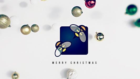 Thumbnail for Logo de Noël tombant