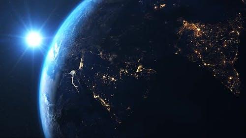 Earth Space Full HD