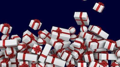 White Presents Pile