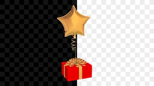 Thumbnail for Gift Balloon Star