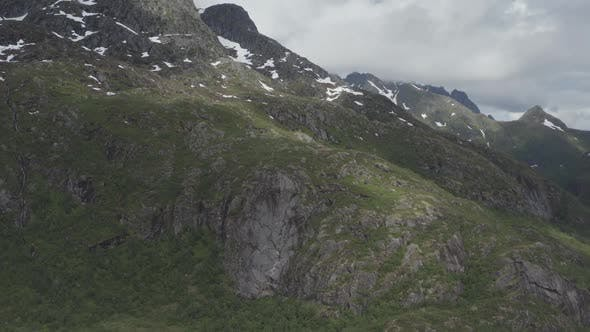 Thumbnail for Mountains With Greenery And Snow