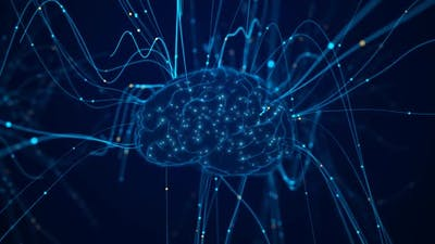 Particles Converge On The Brain 4K 01