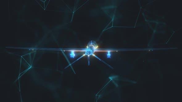 War Drone 3d Scanning Hd