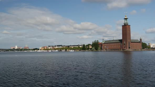 Thumbnail for Time lapse from the Stockholm City Hall