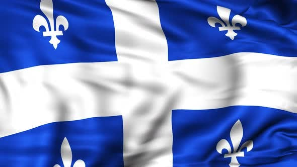 Thumbnail for Quebec Province Flag