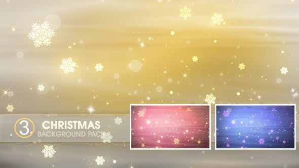 Thumbnail for Christmas Backgrounds Vol 01