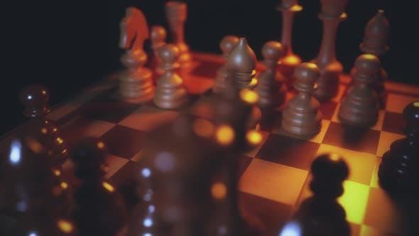 Chess Board Game Play V3 4k