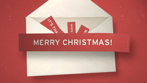 Cover Image for Christmas Envelope