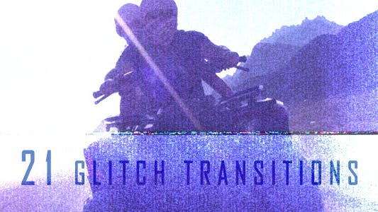 Thumbnail for Glitch Transitions (21-Pack)