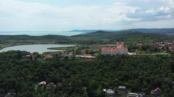 Thumbnail for Flying Around The Abbey Of Tihany