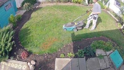 Hard Work in Garden - Time Lapse
