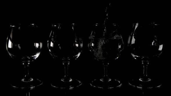 Thumbnail for Filling Wineglasses on the Table