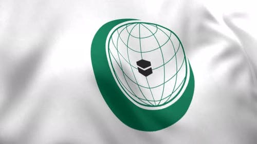 OIC Flag / Organisation of Islamic Cooperation Flag (Logo) - 4K