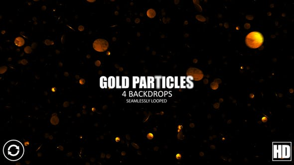 Thumbnail for Gold Particles HD